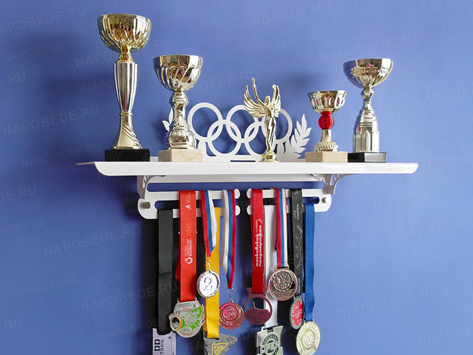 полка для кубков и медалей фото